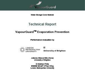 Informe de Evaporación (Inglés)